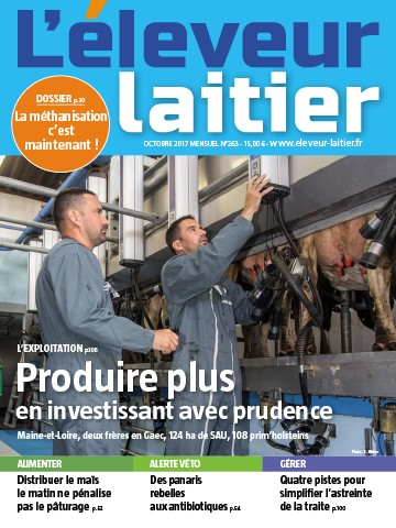 Couverture du magazine La France Agricole n°263