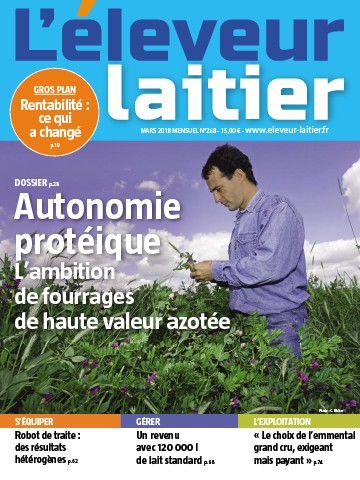 Couverture du magazine La France Agricole n°268