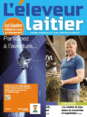 Couverture du magazine La France Agricole n°276