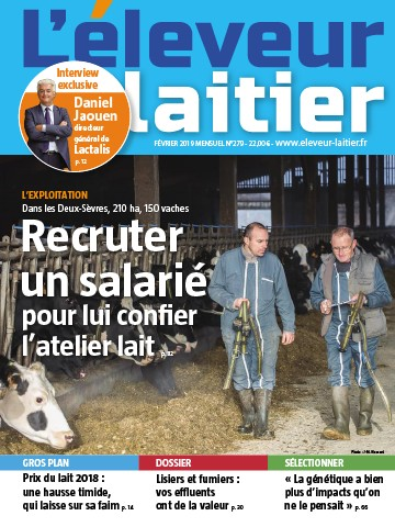 Couverture du magazine La France Agricole n°279