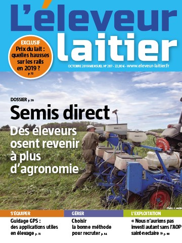 Couverture du magazine La France Agricole n°287
