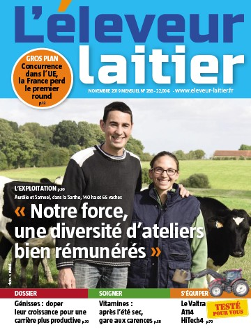Couverture du magazine La France Agricole n°288