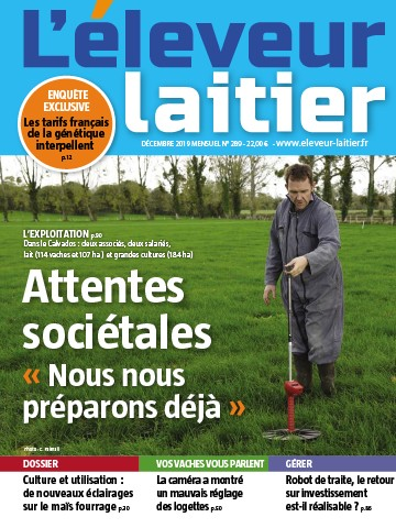 Couverture du magazine La France Agricole n°289